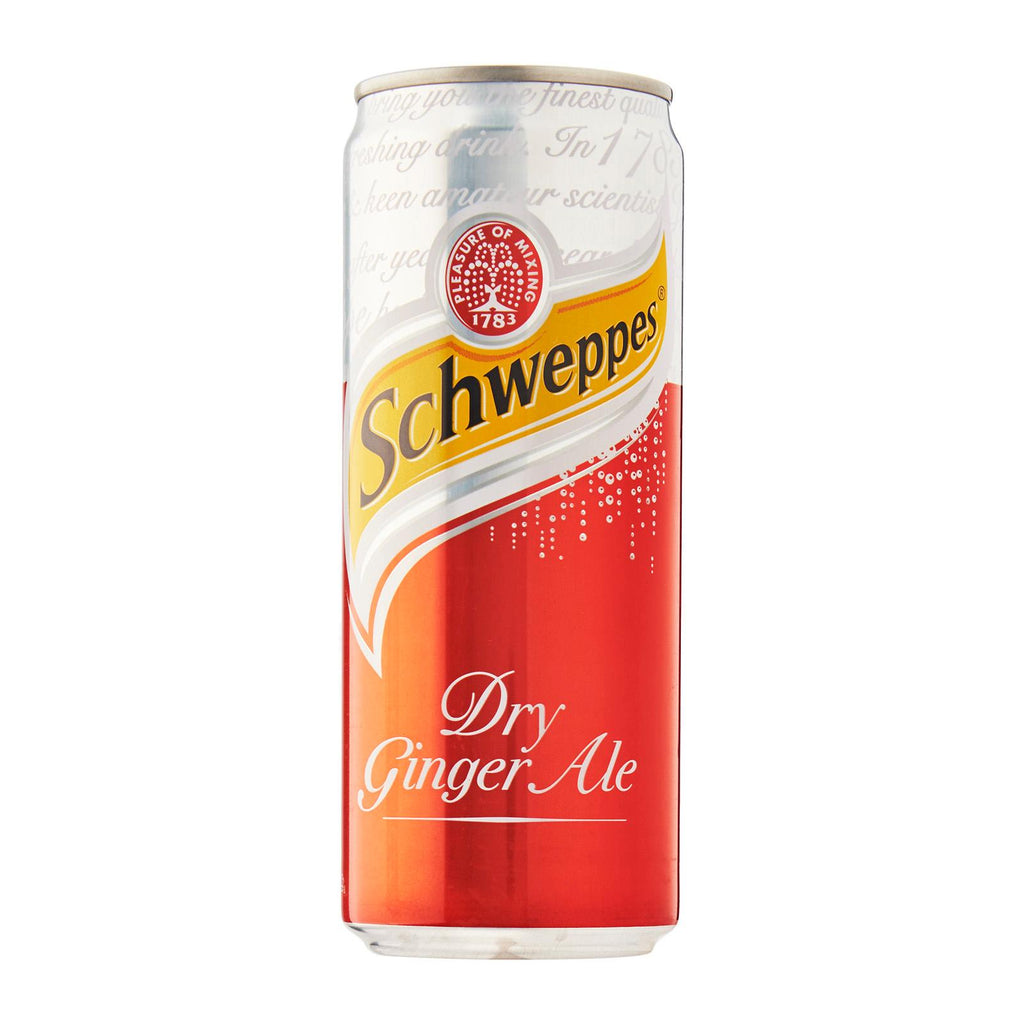 Schweppes Dry Ginger Ale - 12x330ml