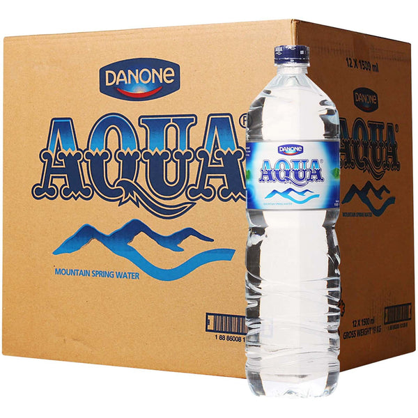 Aqua Mountain Spring WaterA 12sx1.5L - LimSiangHuat