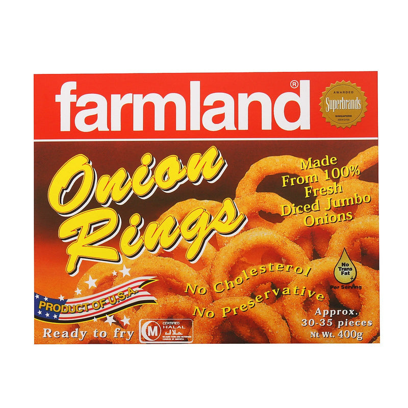 Farmland Onion Rings 12x400g - LimSiangHuat