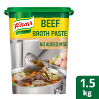 Beef Broth Base (No Added MSG) - Knorr 6x1.5kg