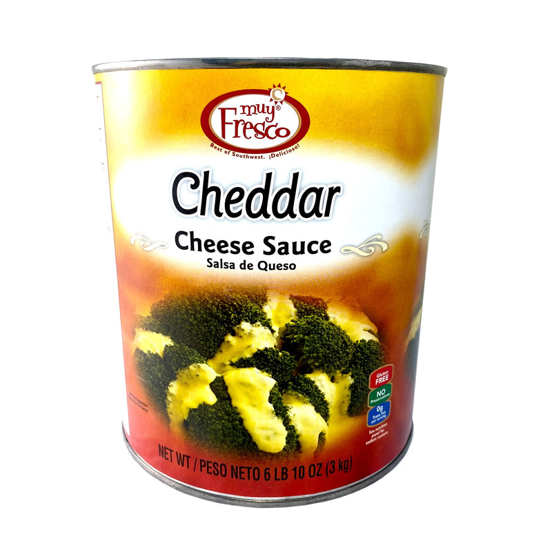 Cheddar Cheese Sauce Muy Fresco 3kg - LimSiangHuat