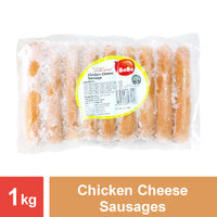 "Chicken Cheese Sausage (5"") - 12x1kg"