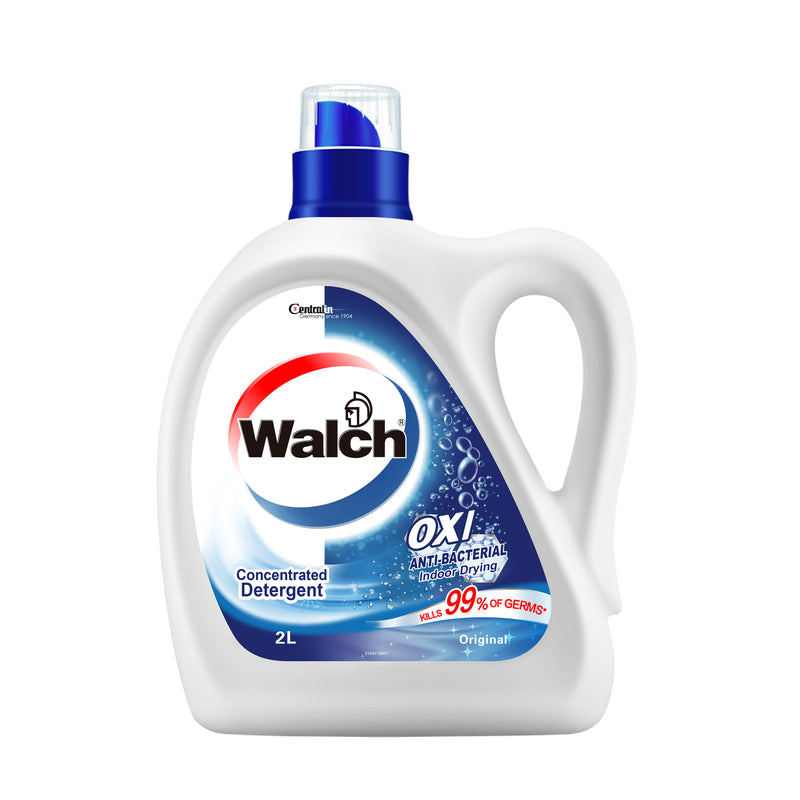 Walch OXI Clean Anti-Bacterial Concentrated Detergent (Original) - 6x2L
