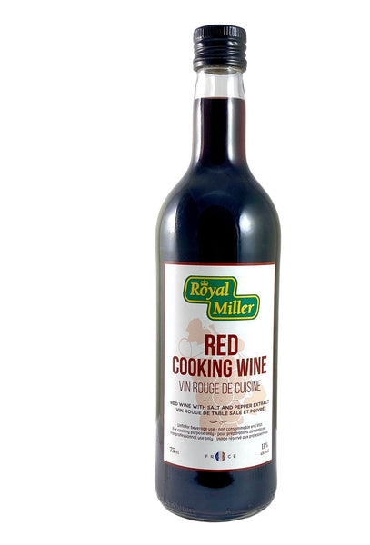 Red Cooking Wine 11%vol Royal Miller 750ml - LimSiangHuat