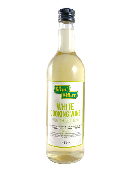 White Cooking Wine 11%vol Royal Miller 750ml - LimSiangHuat