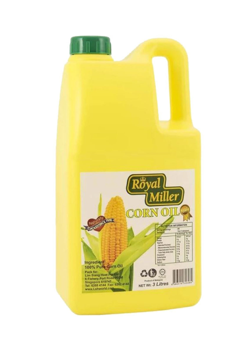 Corn Oil Royal Miller 3L - LimSiangHuat