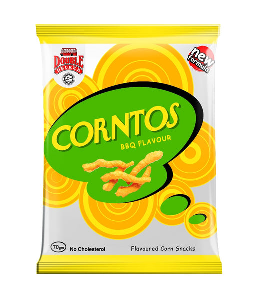 Corntos Bbq - Double Decker  3x10x70g - LimSiangHuat