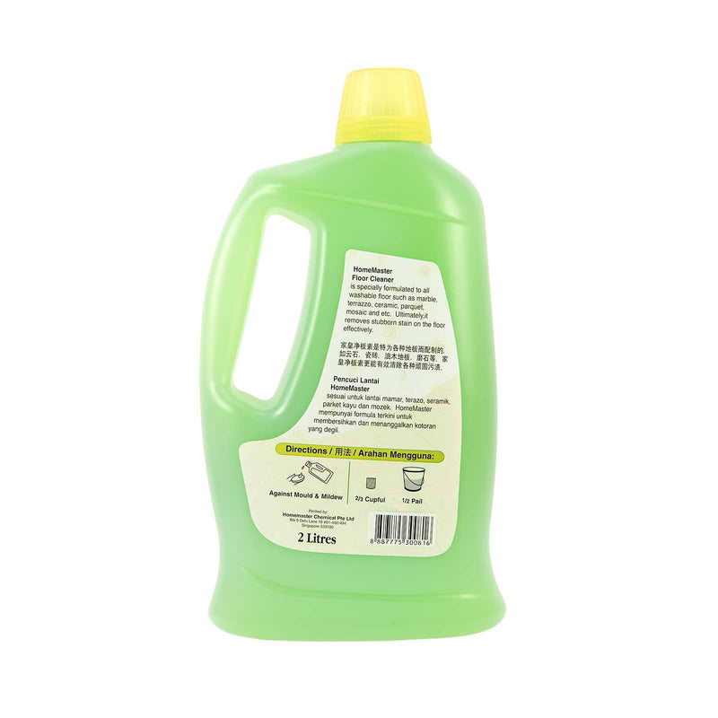 Floor Cleaner (Apple) - HomeMaster 6x2ltr - LimSiangHuat