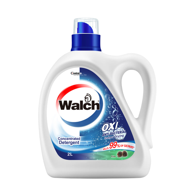 Walch OXI Clean Anti-Bacterial Concentrated Detergent (Pine) - 6x2L