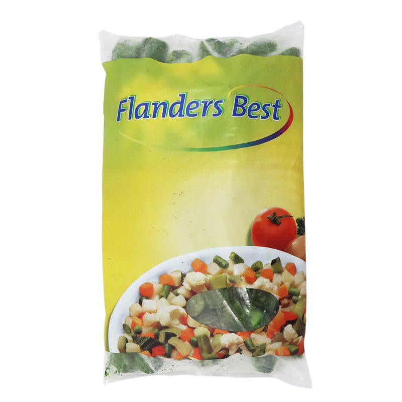 Spinach Leaf Granulated Flander's Best 4x2.5kg - LimSiangHuat