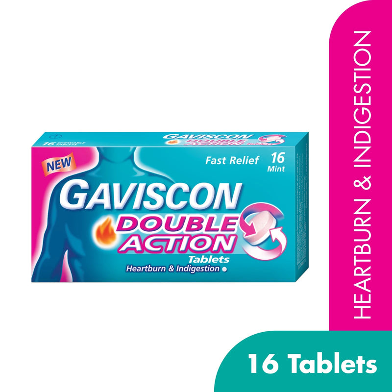 Gaviscon Double Action Tablet 16s