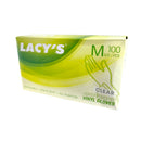 Disposable VINYL Gloves (Medium) - Lacys 100s/box - LimSiangHuat
