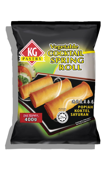 Cocktail Springroll (Vegetable) - KG 24x(20'sx20gm) - LimSiangHuat