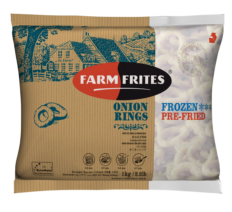 Onion Rings - FarmFrites 10x1000g [H] NL