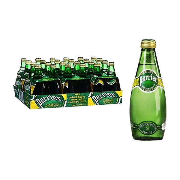 Perrier Mineral WaterA 24sx330ml - LimSiangHuat