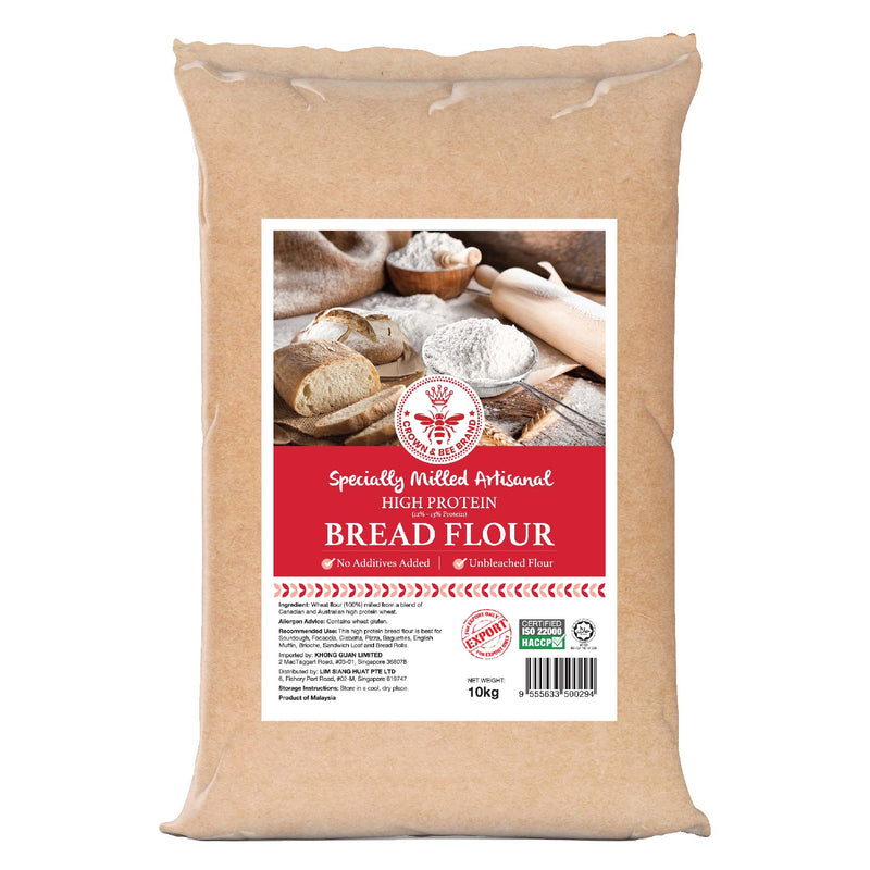 Crown & Bee Premium Artisan Bread Flour 10 kg
