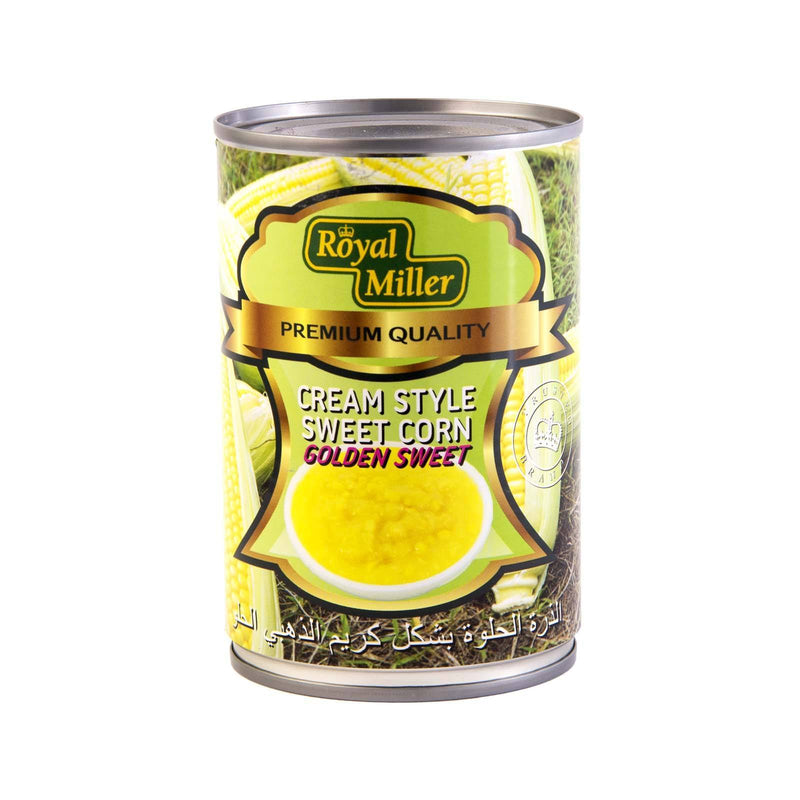 Cream Style Corn Royal Miller 425g - LimSiangHuat