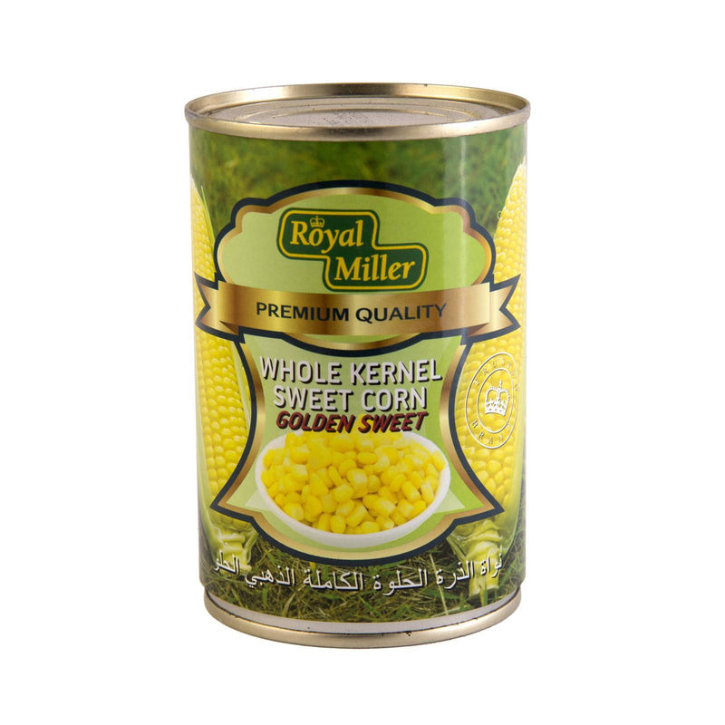Whole Kernel Sweet Corn - Royal Miller 425g - LimSiangHuat