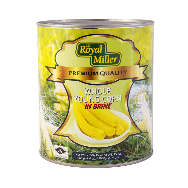 Young Sweet Corn Royal Miller 2.9kg - LimSiangHuat