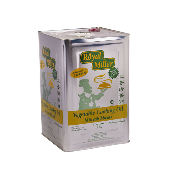 Vegetable Cooking Oil Royal Miller 17kg - LimSiangHuat