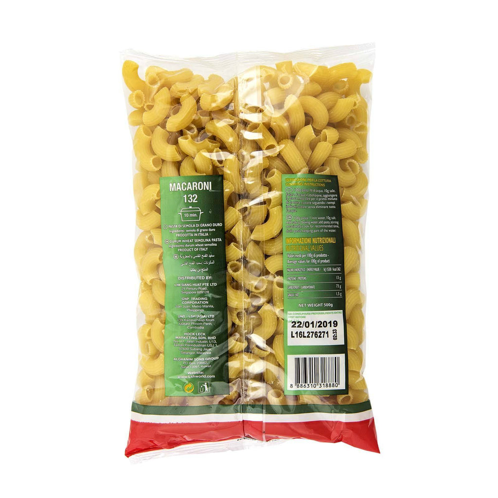 Macaroni FTO 132 Royal Miller 500gm - LimSiangHuat