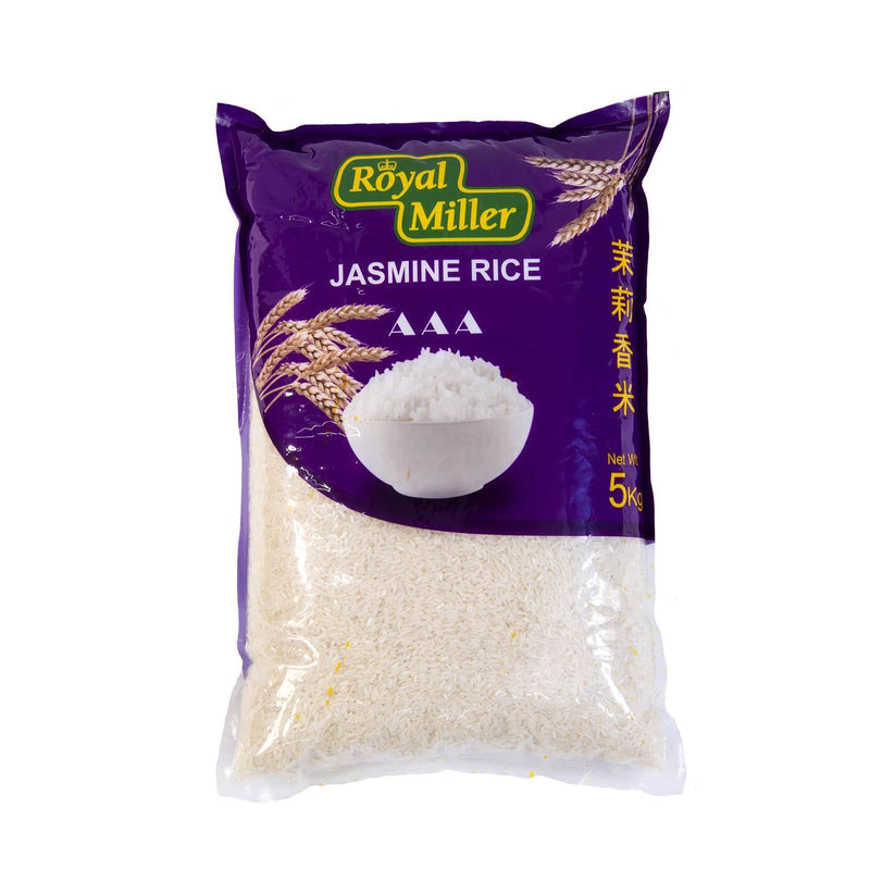 Jasmine Fragrant Rice Royal Miller 5kg - LimSiangHuat