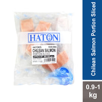 Salmon Chilean Portion Sliced - Haton 900g-1kg