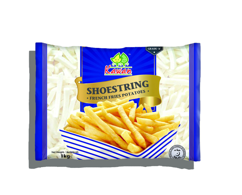 Shoestring Fries - Kawan 10x1kg - LimSiangHuat
