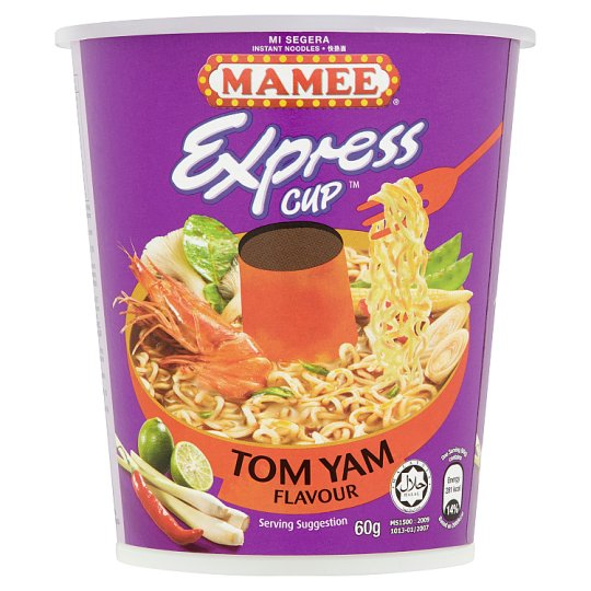 Tomyam Cup - Mamee Express  24x60g - LimSiangHuat