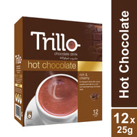 Trillo Hot Chocolate - 12x12'sx25g