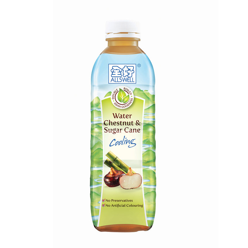 Allswell Water Chestnut & Sugar Cane - 12 x 1000ml