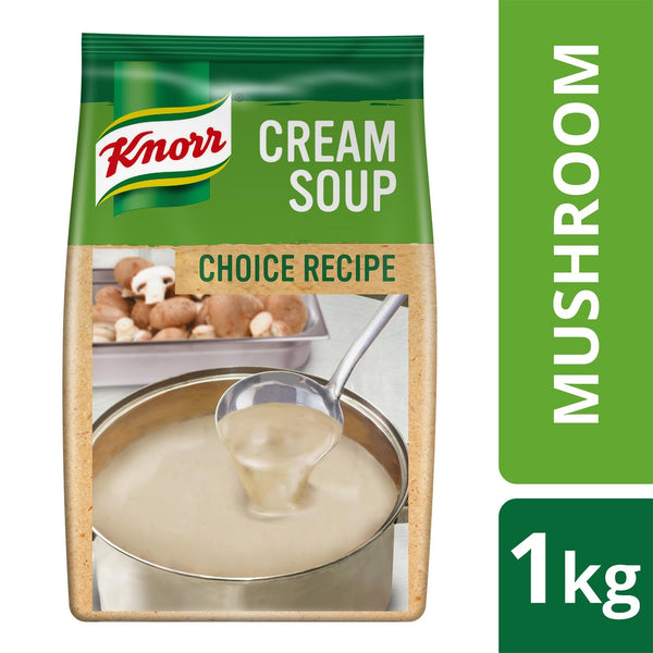 Knorr Cream Of Mushroom Soup (Choice Recipe) No Msg (6X1Kg) Salt/seasoning