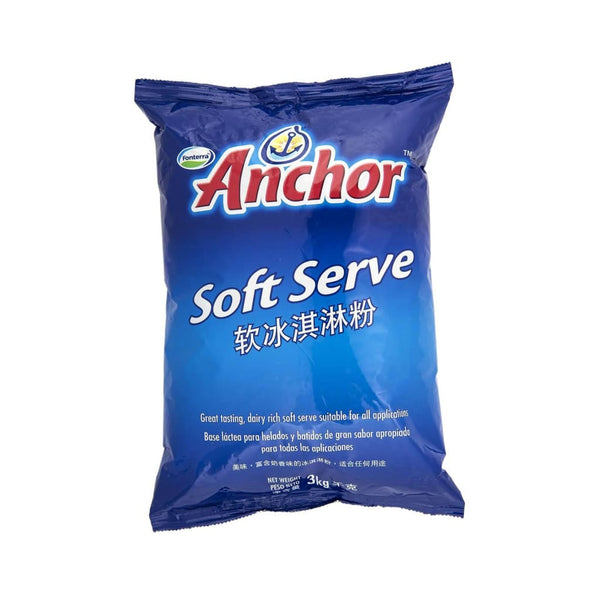 Anchor Soft Serve Powder - 4x3 kg - LimSiangHuat