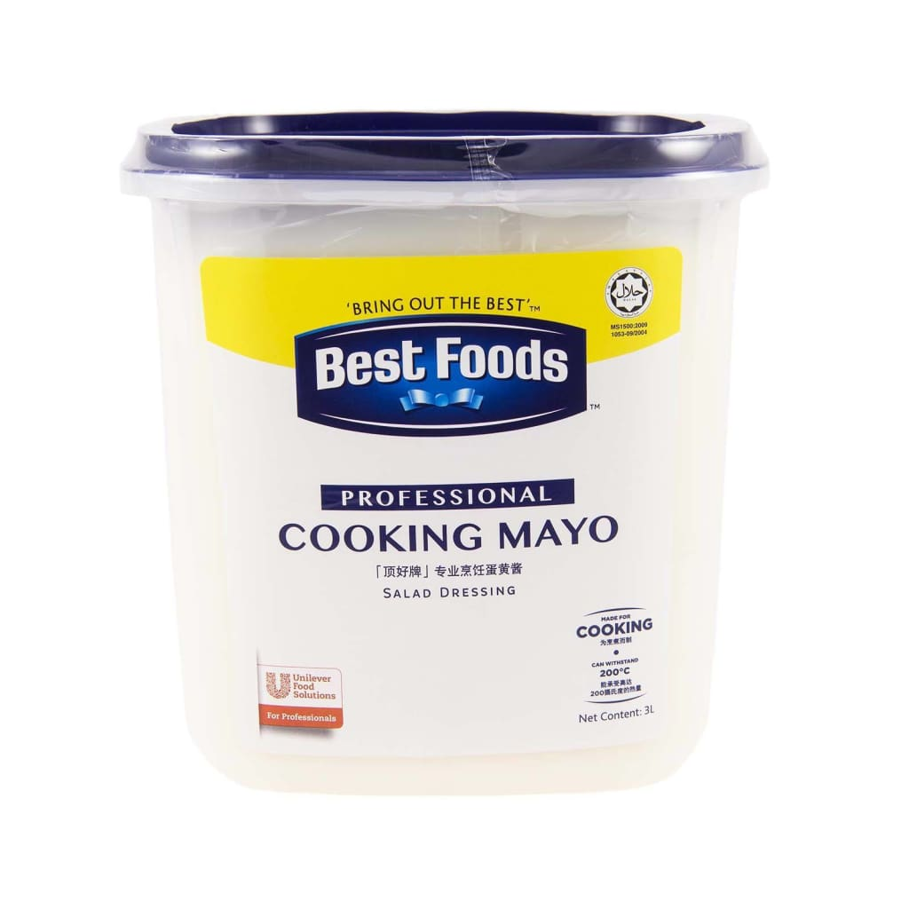 Best Foods Professional Cooking Mayonnaise (4x3L) - LimSiangHuat