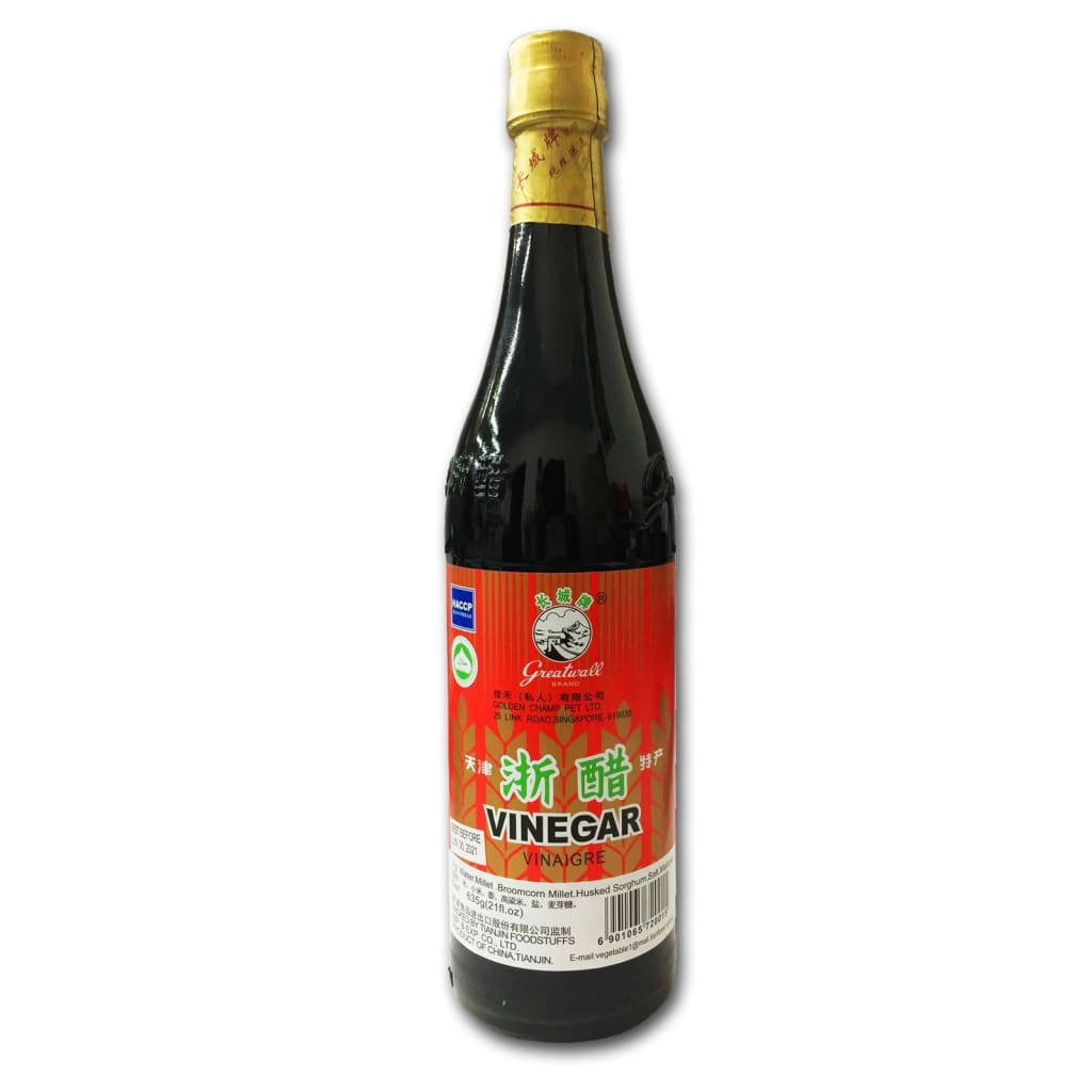 Black Vinegar - Great Wall 12x635ml - LimSiangHuat