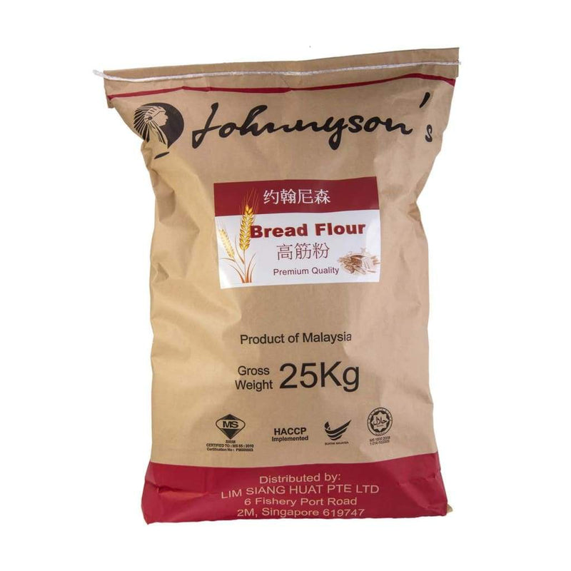 Bread Flour - Johnnyson's 25kg/bag