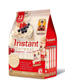 Instant Oatmeal (Sachets) (RED) - Captain Oats 12 X 12S X 40G - LimSiangHuat