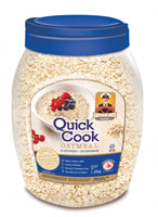 Quick Cook Oatmeal (Jar) (BLUE) - Captain Oats  12 X 1.2KG