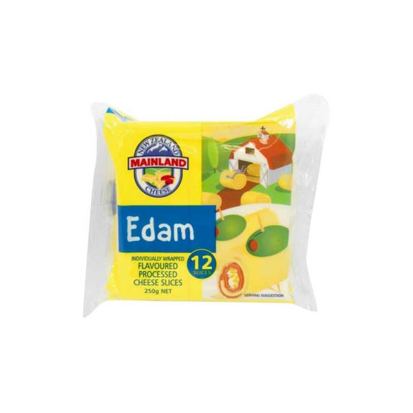 Cheese Slices Edam Processed Mainland 250g - LimSiangHuat