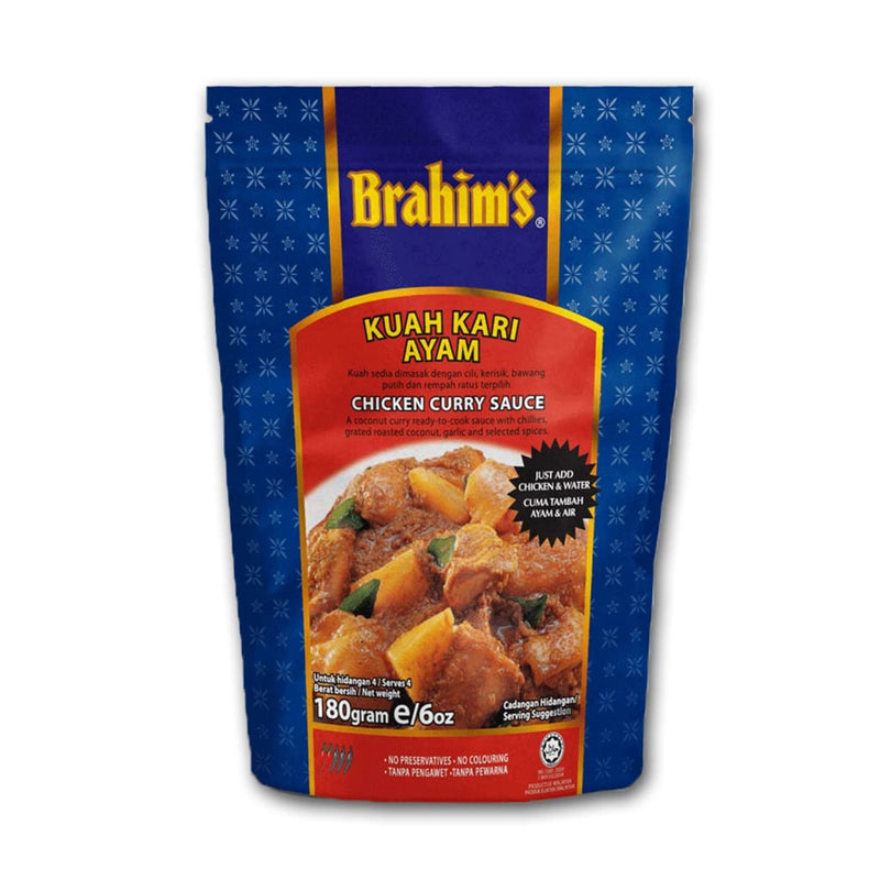 Curry Chicken Sauce Brahim's 180gm - LimSiangHuat