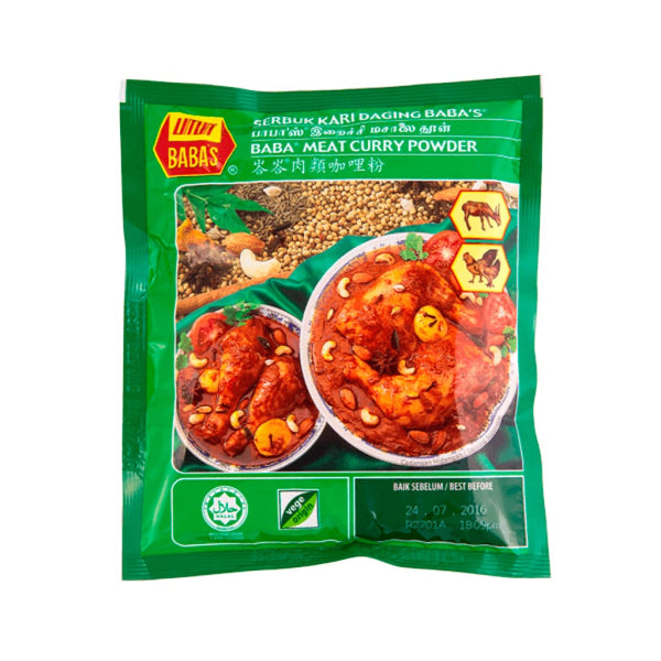 Curry Powder Meat - Babas 40x250g - LimSiangHuat