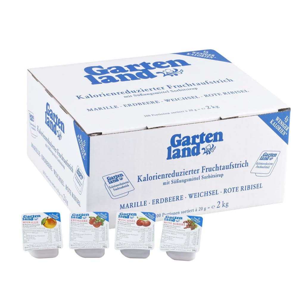 Diabetic Portion Assorted Gartenland 100s X 20gm - LimSiangHuat