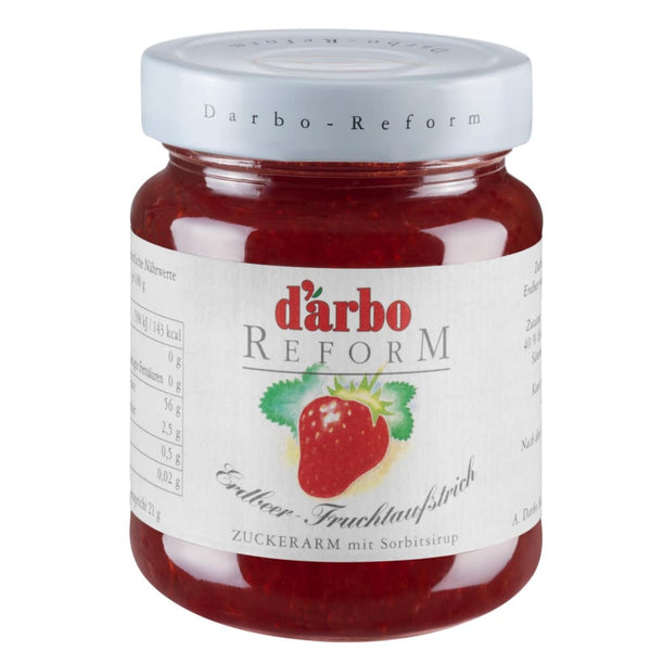 Diabetic Reform Strawberry Preserve Darbo 330g - LimSiangHuat