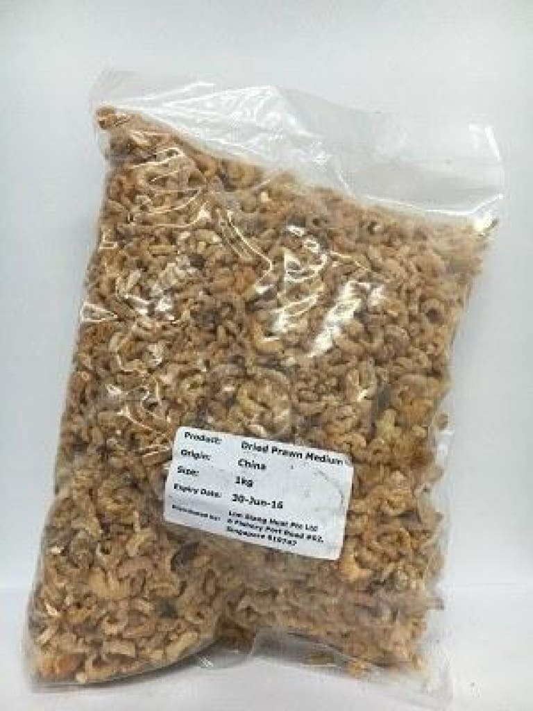 Dried Prawn (Med) 1kgpkt - LimSiangHuat