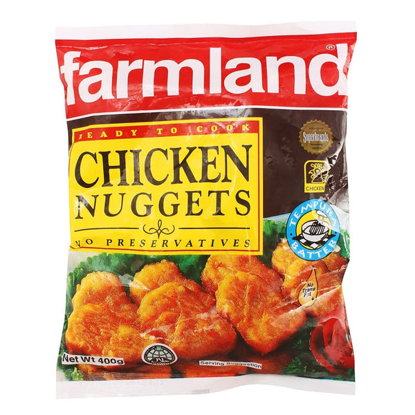 Farmland Chicken Nuggets 24x400g - LimSiangHuat