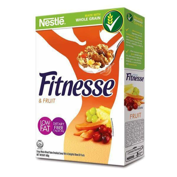 Fitnesse & Fruits -Nestle 18x450g - LimSiangHuat