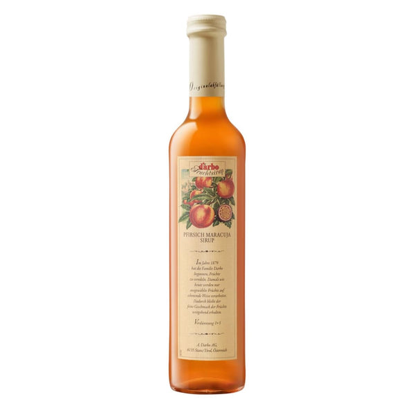 Fruit Syrup PeachPassion Darbo 500ml - LimSiangHuat
