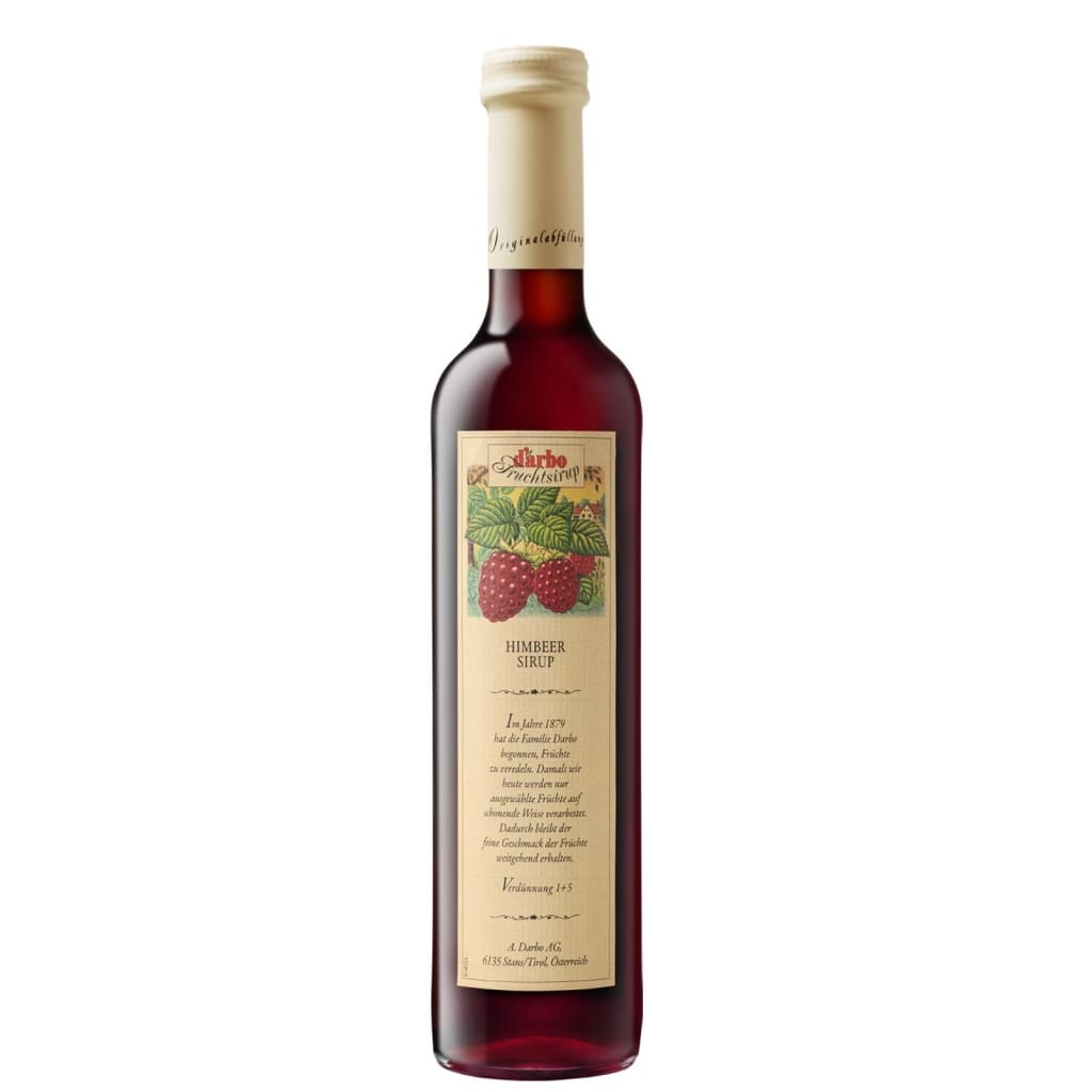 Fruit Syrup Raspberry Darbo 500ml | Product Type : Syrups