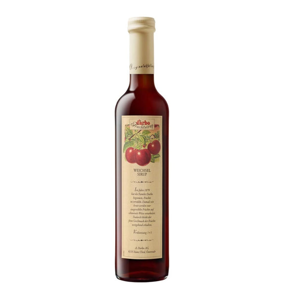 Fruit Syrup Sour Cherry Darbo 500Ml Syrups