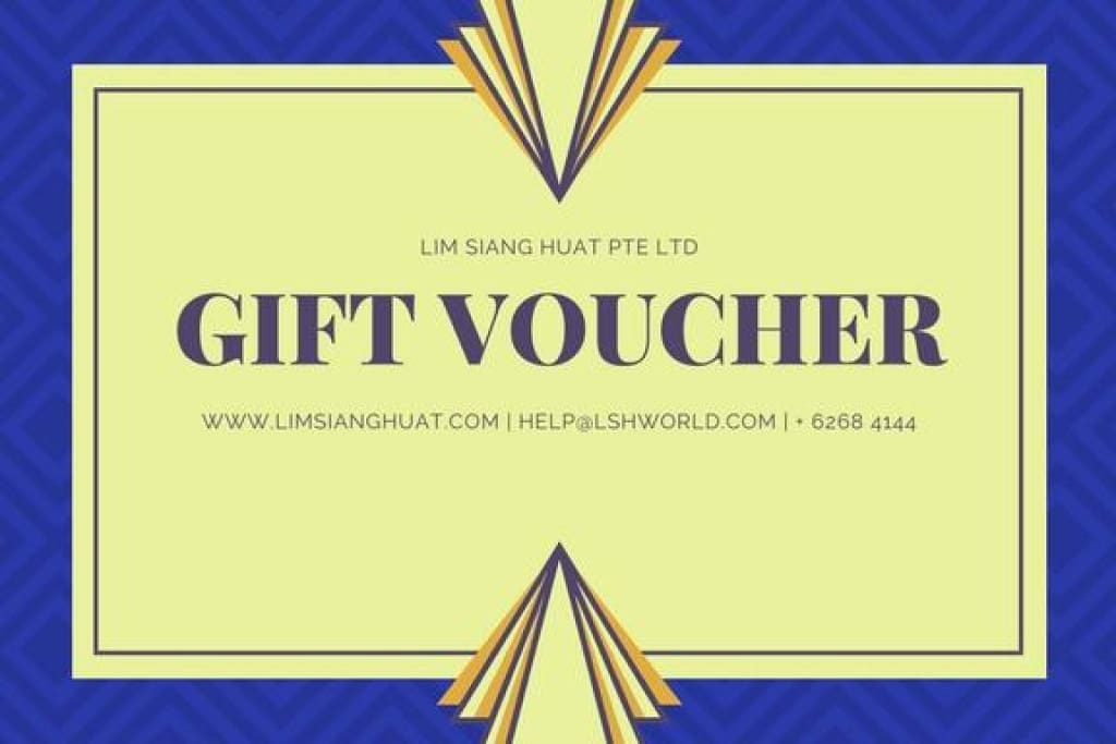Gift Voucher | Product Type : Gift Card | Lim Siang Huat Pte